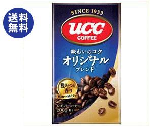 【送料無料】UCC 味わいのコク オリジナルブレンド(粉) 200g袋×24袋入 ※北海道・沖縄は別途送料が必要。