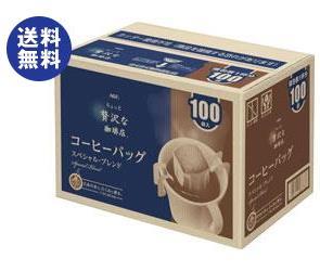 送料無料 AGF ちょっと贅沢な珈琲店 レギュラー・コーヒー コーヒーバッグ スペシャル・ブレンド 7g×100P×6箱入 ※北海道・沖縄は配送不可。