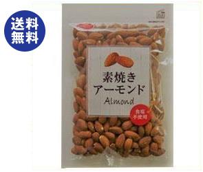 送料無料 【2ケースセット】共立食品 素焼きアーモンド ボリュームパック 370g×6袋入×(2ケース) ※北海道・沖縄は配送不可。