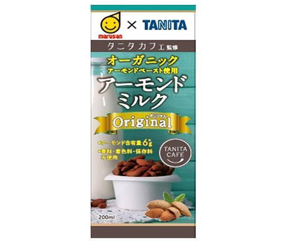 送料無料 マルサンアイ タニタカフェ監修 アーモンドミルク リラックス 200ml紙パック×24(12×2)本入 ※北海道・沖縄は別途送料が必要。
