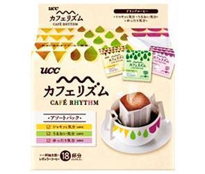 送料無料 【2ケースセット】UCC カフェリズム ドリップコーヒー アソートパック 18P×12袋入×(2ケース) ※北海道・沖縄は配送不可。