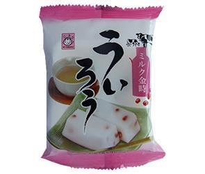 送料無料 【2ケースセット】ヤマク食品 ミルク金時入り ういろう 100g×12袋入×(2ケース) ※北海道・沖縄は別途送料が必要。