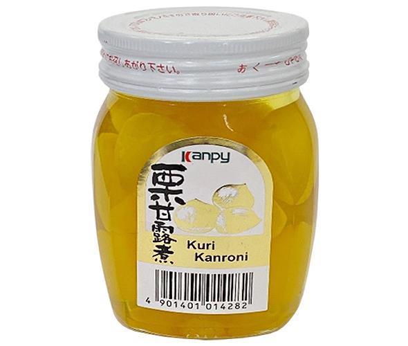 送料無料 【2ケースセット】 カンピー 栗甘露煮  200g瓶×24個入×(2ケース)  ※北海道·沖縄は配送不可。
