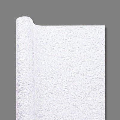 花束などにおすすめ カービングロール ホワイト 04 国内正規品 お取り寄せ品 ギフト 品質保証 ラッピング プレゼント 巾75×10m