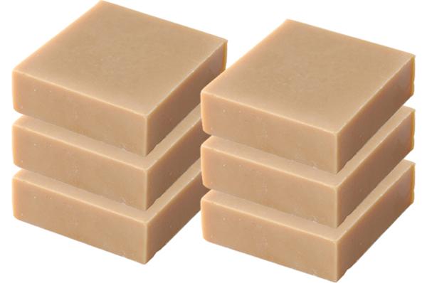 【送料無料】4部門で1位獲得!天然素材の『はちみつ石鹸』お得な6箱セット(600g)【敏感肌や乾燥肌、ニキビやオイリー肌の方にも最適な洗顔石鹸です!しっとり保湿効果バツグン♪ツッパリ感のない手づくり無添加石鹸】