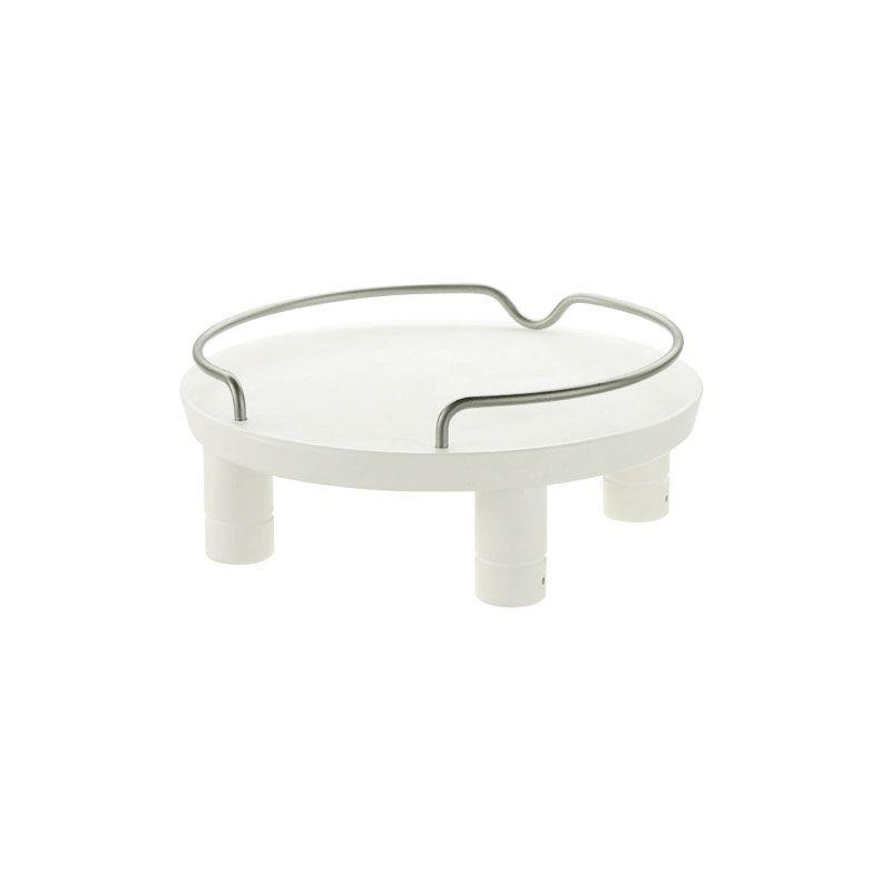 ラクな姿勢で食事をすることができるテーブル リッチェル/Richell ペット用 木製テーブルシングル ホワイト (W)