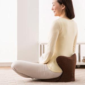 馬具マットプレミアムEX 【送料無料・代引料無料・日本製】 座りやすさがアップした馬具マットプレミアムEX 美姿勢座椅子 美姿勢クッション 椅子用クッション