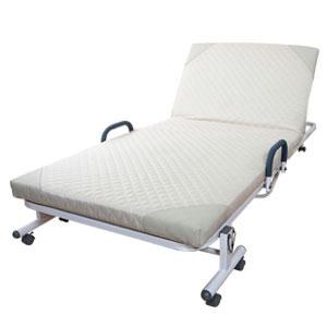 14段階リクライニングベッド【送料無料】 折りたたみリクライニングベッド 折り畳みリクライニングベッド 収納式折りたたみリクライニングベッド リクライニング式折りたたみベッド