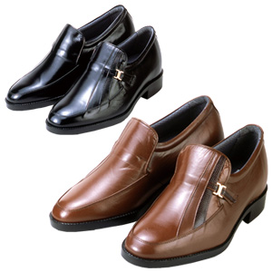 シークレットシューズ 5cmアップ ■送料無料・代引料無料■【カンガルー革 メンズアップシューズ】 日本製 メンズシューズ ビジネスシューズ 背が高くなる靴