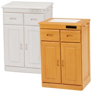 キッチン収納家具 ■送料無料・完成品■【キッチンカウンター MUD-6520】 キッチンチェスト キッチンラック キッチン収納棚 木製 キャスター付き