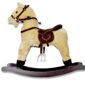 ロッキングアニマル 8264 【送料無料】 [ロッキングチェア 馬 ロッカー 木馬 乗れるぬいぐるみ 馬 ポニー ロッキングホース かわいい 乗り物 室内 乗用玩具 うま ぬいぐるみ]
