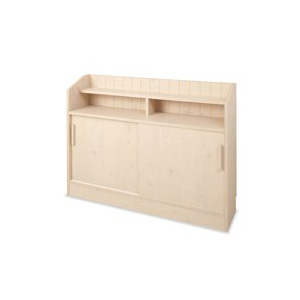 【カウンター下引戸収納 118.5cm幅 NO-0024】引き戸カウンター下収納家具の通販