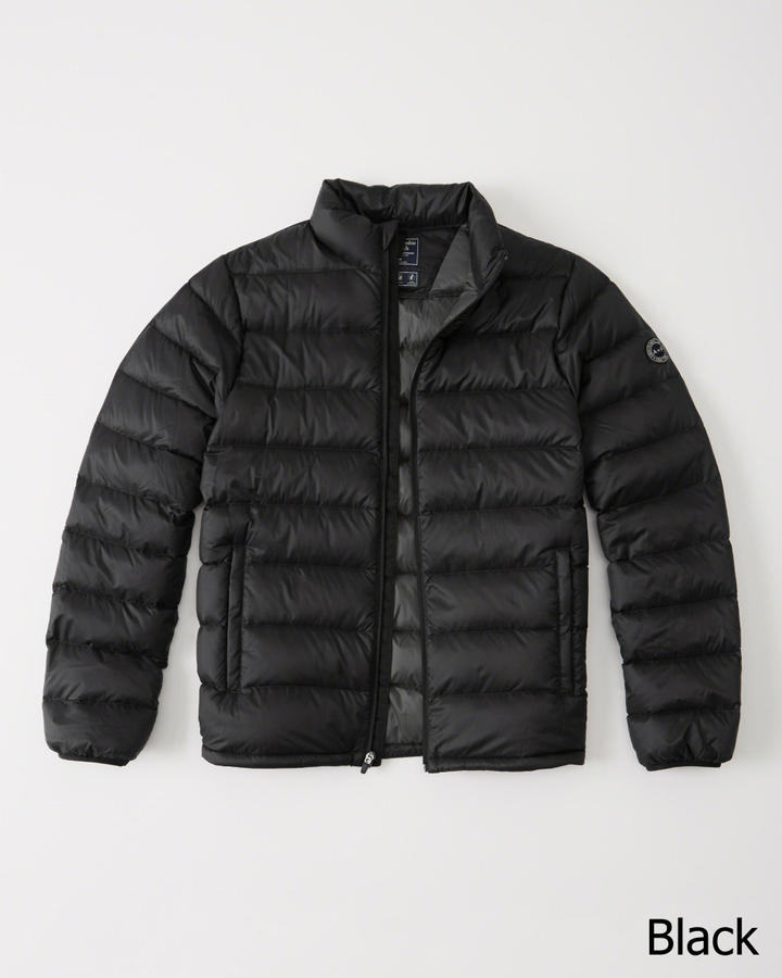 5f5347a9ee8eb Down-Filled Packable Puffer  Abercrombie&Fitch  本物保証 ...
