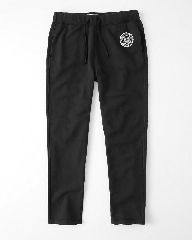 Abercrombie&Fitch (アバクロンビー&フィッチ) クラッシックロゴ スエットパンツ (Classic Logo Sweatpants) メンズ (Dark Grey) 新品