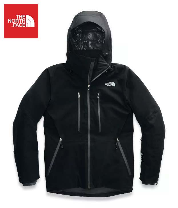 The North Face (ザ・ノースフェイス) 日本未発売 USAモデル 取り外し可能フード GORE-TEX ゴアテックス アノニム ジャケット (ANONYM JACKET)メンズ (Black) 撥水加工 新品
