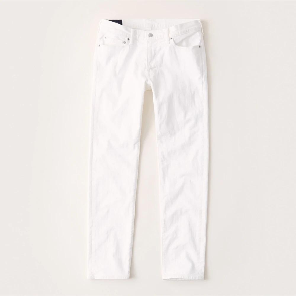 正規直営店より直接買い付け Abercrombie Fitch アバクロンビー フィッチ スキニージーンズ デニム ストレッチ Jeans White Skinny Stretch Color:175 メンズ 期間限定お試し価格 新品 大好評です