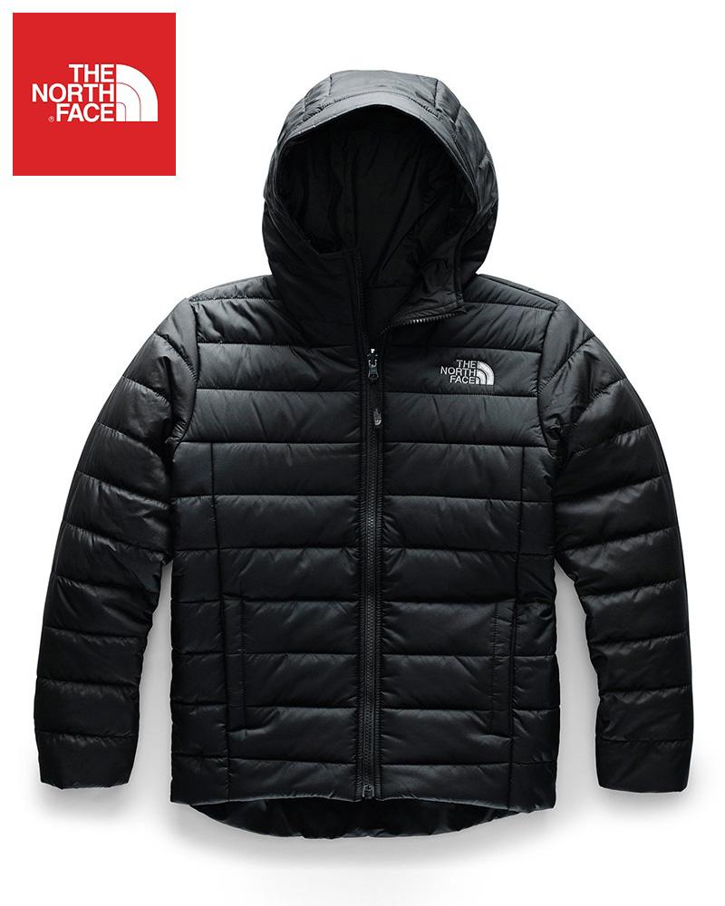 The North Face (ザ・ノースフェイス) 日本未発売 USAモデル リバーシブル ペリート ジャケット (Reversible Perrito Jacket)キッズ (Black/Black) 新品