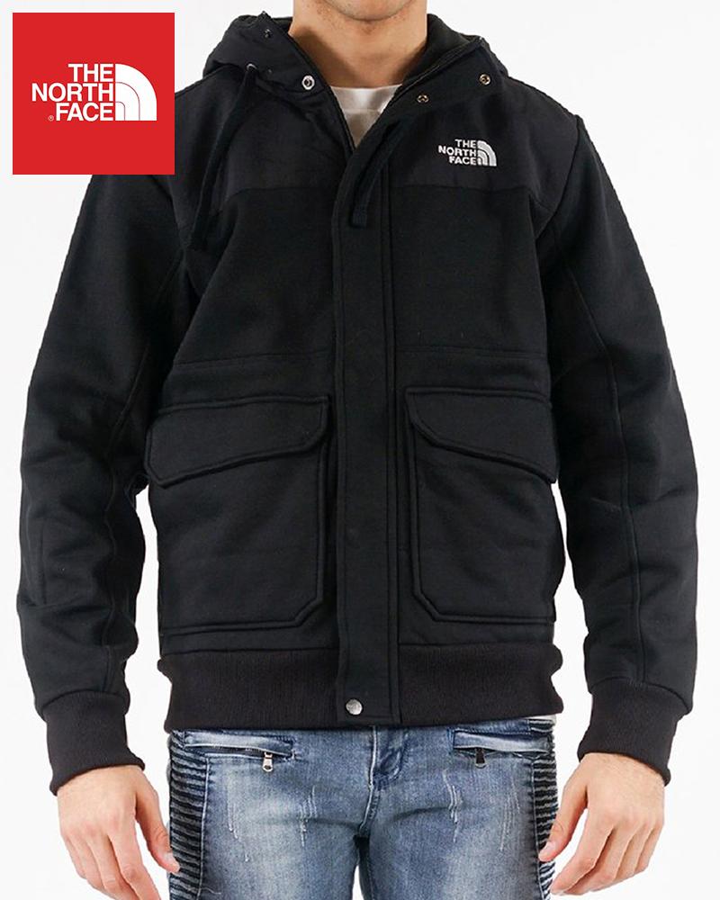 The North Face (ザ・ノースフェイス) リビングトン フルジップパーカー(Rivington Zip Up Hoodie)メンズ (Black) 新品 日本未発売