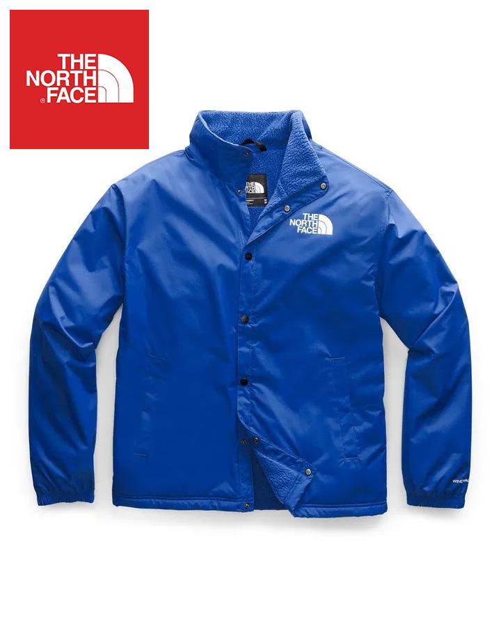 The North Face (ザ・ノースフェイス) 日本未発売 USAモデル フリースライニング テレグラフコーチジャケット (Telegraphic Coaches Jacket)メンズ (Blue) 撥水加工 新品