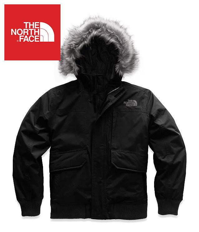 The North Face (ザ・ノースフェイス) 日本未発売 USAモデル R.D.S.認証 550フィル グースダウンジャケット (Gotham Down Jacket)キッズ (Black) 撥水加工 新品 日本未発売