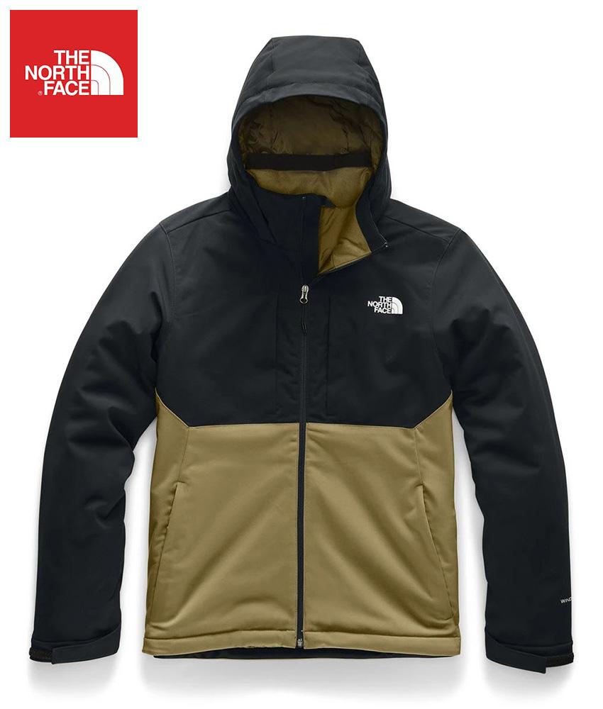 The North Face (ザ・ノースフェイス) 日本未発売 USAモデル アペックスエレヴェーションジャケット (Apex Elevation Jacket)メンズ (Black/British Khaki) 撥水加工 新品