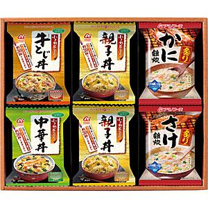 アマノフーズ 【お徳用セット】バラエティギフト M-300AD (5種類/12食入×10箱セット) 205446-S
