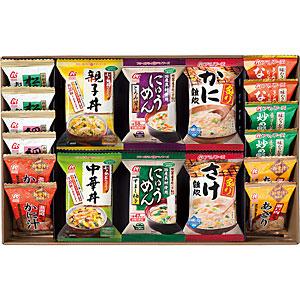アマノフーズ 【お徳用セット】バラエティギフト M-500C (12種類/各2食入×6箱セット) 205460-S