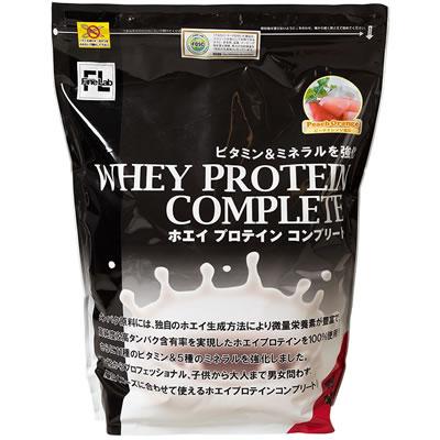 FINE LAB(ファイン・ラボ) ホエイプロテインコンプリート 3kg <ピーチオレンジ風味> 0368【送料無料】【smtb-K】