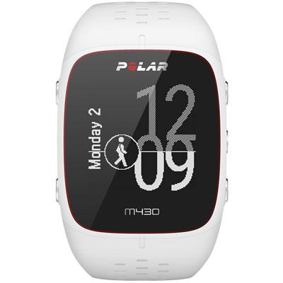 POLAR(ポラール) 手首型6LED光学式心拍計・GPSランニングウォッチ M/Lサイズ M430 <ホワイト> 0725882038773