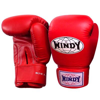 WINDY(ウィンディ) トレーニンググローブ/ペア BGVH 8oz <赤>