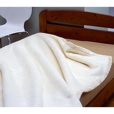 シルク毛布 生成り 114818