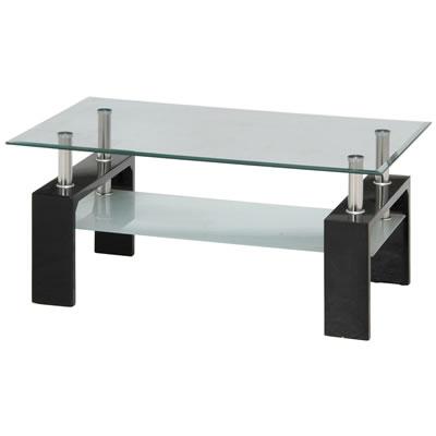 センターテーブル フォーカス(FOCUS) ブラック 884237