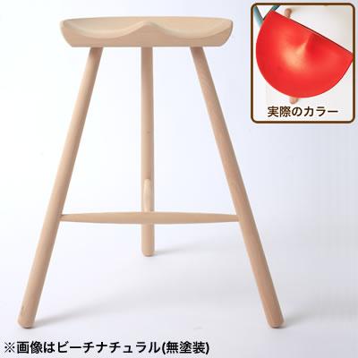 [SC]シューメーカーチェア No.59 座面高56cm レッド