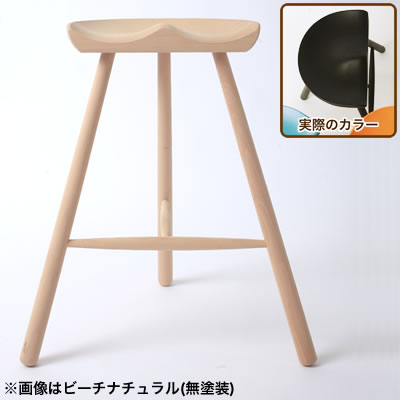 [SC]シューメーカーチェア No.59 座面高56cm ブラック
