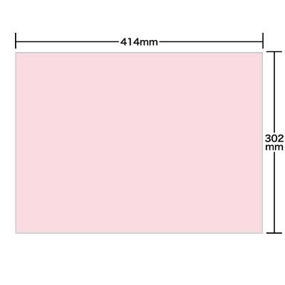 ペーパーカラーテーブルマット Lサイズ 直角 さくら <2000枚>