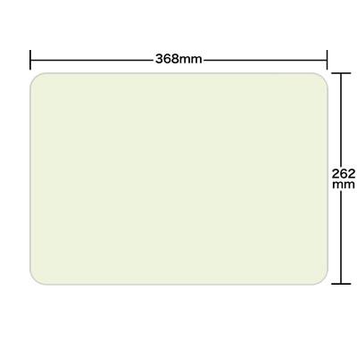 Tableマット-ペーパーマット アウトレット ペーパーカラーテーブルマット Mサイズ 2000枚 中古 角R 若草