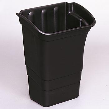 ラバーメイド エクストラカート、ユーティリティカート用 廃棄物用容器 FG335388BLA 0086876162844