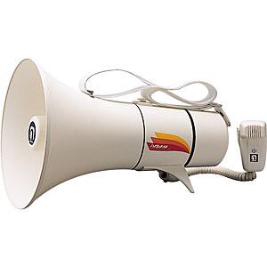 ノボル電機(noboru) ショルダー型メガホン アイボリーホワイト TM-205【送料無料】【smtb-K】