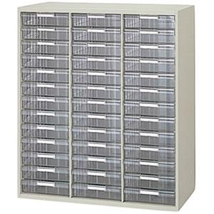 [NW]トレー書庫(深型B4用/3列13段・下置用) W900×D450×H1050