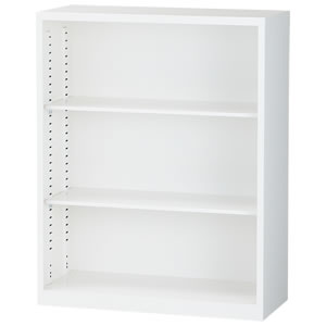 [ALZ]オープン書庫 幅880×奥行380×高さ1110mm
