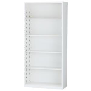 [ALZ]オープン書庫 幅880×奥行380×高さ1860mm