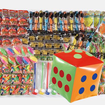 サイコロ出た目の数だけプレゼント スポーツおもちゃ 約35人用