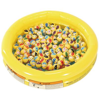 お祭りや縁日の夜店に おもちゃ 送料0円 ボールすくいセット キャラクターまんまるたまごすくい大会 100人用 出色