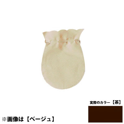 YポーチL <茶> No.50010 ×100セット