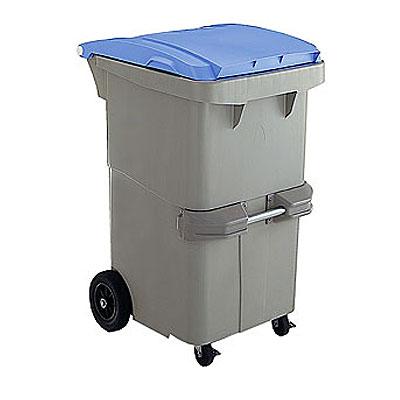 セキスイ リサイクルカート#200(容量200L) 反転型 ブルー RCN200B