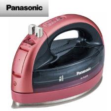 【送料無料】パナソニック コードレススチームアイロン (ピンク)NI-WL604-P