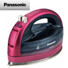 【送料無料】パナソニック コードレススチームアイロン (ピンク)NI-WL704-P