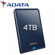 【送料無料】ADATA HV620S 2.5インチ USB3.1 ポータブルHDD 4TB ブルー AHV620S-4TU31-CBL