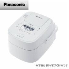 【送料無料】パナソニック スチーム&可変圧力IHジャー炊飯器 1.8L (ホワイト)SR-VSX188-W