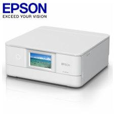 (単品限定購入商品)【送料無料】エプソン A4インクジェットプリンター/カラリオ/多機能/6色/有線・無線LAN/Wi-Fi Direct/両面/4.3型ワイドタッチパネル/ホワイトEP-881AW